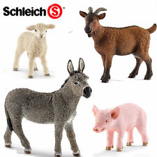 SCHLEICH World of Nature Farm PIGS, GOATS & DONKEYS Choice of 14 all with Tag