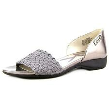 Anne Klein Sport Kea   Open-Toe Synthetic  Flats