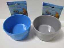 2 x Rabbit guinea pig easy lock water seed hutch bowl coop cup dish large