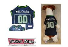 SEATTLE SEAHAWKS Dog Jersey NFL Officially Licensed Football Pet Product Gear