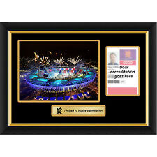 Games Maker Gamesmaker London 2012 Olympics Pass Photo Display Frame Range