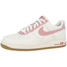 NIKE AIR FORCE 1 SHOES TRAINERS SAIL UNIVERSITY RED LIGHT BROWN 488298-146 DUNK