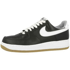 NIKE AIR FORCE 1 SHOES SNEAKER BLACK WHITE BLACK 488298-046 DUNK 07