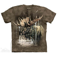 THE MOUNTAIN MOOSE FOREST ANIMAL NATURE WILD LIFE MID WEST T TEE SHIRT S-5XL