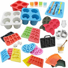 DIY Silicone Mould Mold Ice Cube Tray Maker Freeze Party Bar Chocolate Jelly