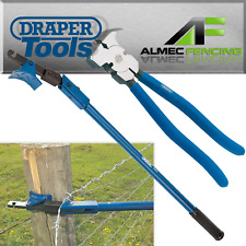 Fence Wire Tensioner Strainer Tensioning Tool Barbed Fencing Draper Expert 57547