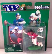 1998 SIMEON RICE Phoenix Arizona Cardinals Rookie  - Starting Lineup