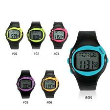 Pulse Watch Heart Rate Monitor Calorie Sport Watch Replaceable Battery JP97