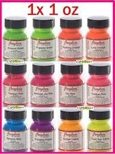 1 oz Angelus Acrylic Neon Paint Dye Leather Vinyl Sneaker Boot Belt Purse Jacket
