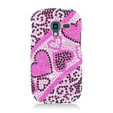 Mix Bling Hard Cover Snap On Case For Samsung Galaxy Exhibit T599