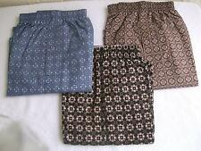 NEW IRVINE PARK MENS SET OF 3 PLAID BOXER SHORTS, COTTON BLEND