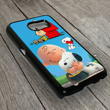 Snoopy Dog Back Cover Case For Samsung Galaxy Smart Phone