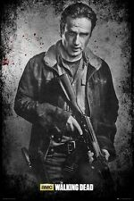 The Walking Dead Rick Black and White Poster 61x91.5cm