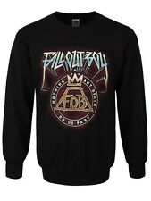Fall Out Boy Nothing But Death Men's Black FOB Sweater