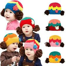 Cute Baby Boy/Girl/Toddler Cap Crochet Hat Children Beanie Cap Crochet Hat L62O