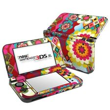 Mosaic Retro Floral Skin Kit For 2DS, 3DS, 3DS XL Vinyl Sticker Decal Cover