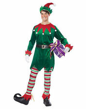California Costumes Christmas Elf Holiday Xmas Winter Jingle Bells Mens Costume