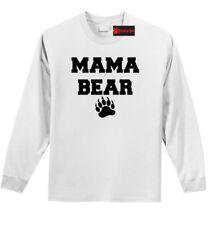 Mama Bear Cute L/S T Shirt Mother's Day Gift Shirt Mom Gift Tee Shirt Z1