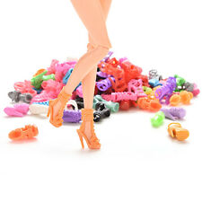15/30/60 Pairs Trendy Multiple Styles Shoes High Heels For Barbie Doll Clothes Y