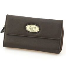 Zip Around Trifold Checkbook Soft Material Women's Wallet