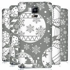 HEAD CASE DESIGNS SILVER HOLIDAY COLLECTION BATTERY COVER FOR SAMSUNG PHONES 1