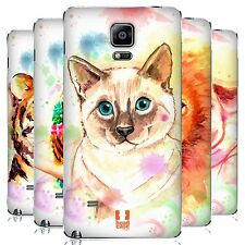 HEAD CASE DESIGNS WATERCOLOURED ANIMALS BATTERY COVER FOR SAMSUNG PHONES 1