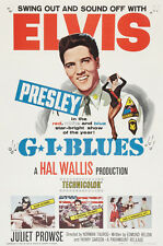 G.I BLUES ELVIS PRESLEY .Classic Movie Poster A1A2A3A4 Sizes