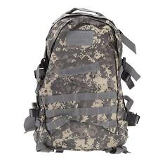 40L Outdoor Molle Military Tactical Backpack Rucksack Camping Trekking Bag X0L1