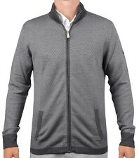 J.LINDEBERG MEN'S GOLF SWEATER GREY M LAURENT ACMERINO SIZE LARGE NWT