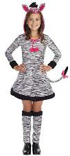 WILD LIL' THANG ZEBRA Child Costume Halloween Dress Up Fancy Dress Cosplay G8