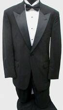 Black Tommy Hilfiger Tuxedo Package Made in USA Wedding Prom Formal Mason 60XL