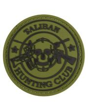 Taliban Hunting Club Tactical Morale Patch Velcro Backed PVC Airsoft