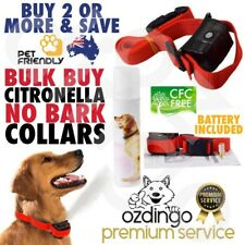Bulk CITRONELLA DOG COLLAR ANTI BARK TRAINING Mist Spray Stop Barking Automatic