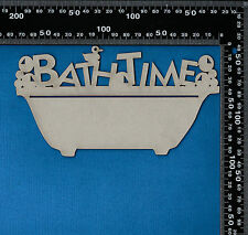 Chipboard  Bathtime Words