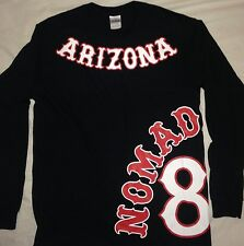 "Hells Angels Arizona Nomads-""Support 81 AZ Nomads""Side Rocker- Long Sleeve"