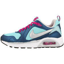 NIKE AIR MAX TRAX GS SHOES TRAINERS 644470-402 BLUE SILVER PINK 90 95 97 BW FB