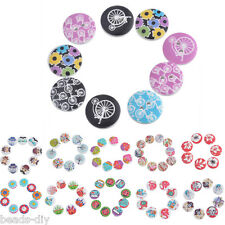 BD  30PCs  Round 2-Hole Wooden Buttons Scrapbook Sewing Cardmaking Craft