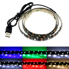 30/50/100/200CM USB Powered LED For Keyboard Monitor & Monitor TV/PC Waterproof