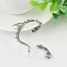 HOT Dragon Snake Ear Cuff Clip Wrap Lure Stud Earring Gothic Punk Gift  X 2
