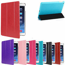 New Ultra Silm Magnetic Leather Smart Stand Case Cover For iPad Air 1/2/3/4 Mini