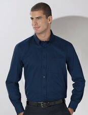 Russell J916M Long Sleeve Mens Classic Twill Work Office Shirt 6 Colours