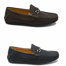 Mens Italian Loafers Boat Deck driving Casual Party Slip On Shoes Size 6 - 11