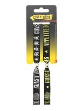 Guns N' Roses Set of 2 Black GNR Festival Wristbands