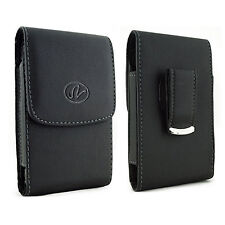 Leather Belt Clip Case Pouch Cover AT&T Motorola Phones