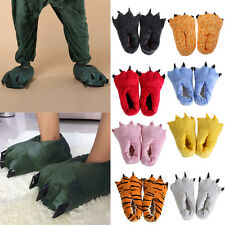 Animal Furry Soft Paw Claw Slippers Winter Warm Indoor Shoes Cosplay Costume New