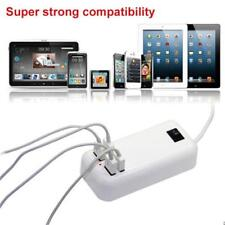 4-Port USB Home Travel AC Wall Charger Power Adapter US Plug For iPhone Samsung
