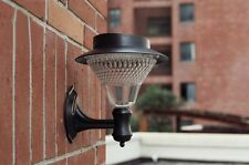Solar Power Powered Outdoor Garden Light Gutter Fence Wall Roof Yard LED Lamp