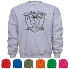 1st Battalion 3rd Marine Regiment USMC US Marines Sweatshirt