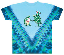 Grateful Dead - Tie Dye Dancing Terrapin Turtles T Shirt