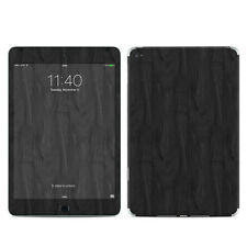 Black Woodgrain Skin Kit For iPad Mini 2, 3, 4 Retina Vinyl Sticker Decal Cover
